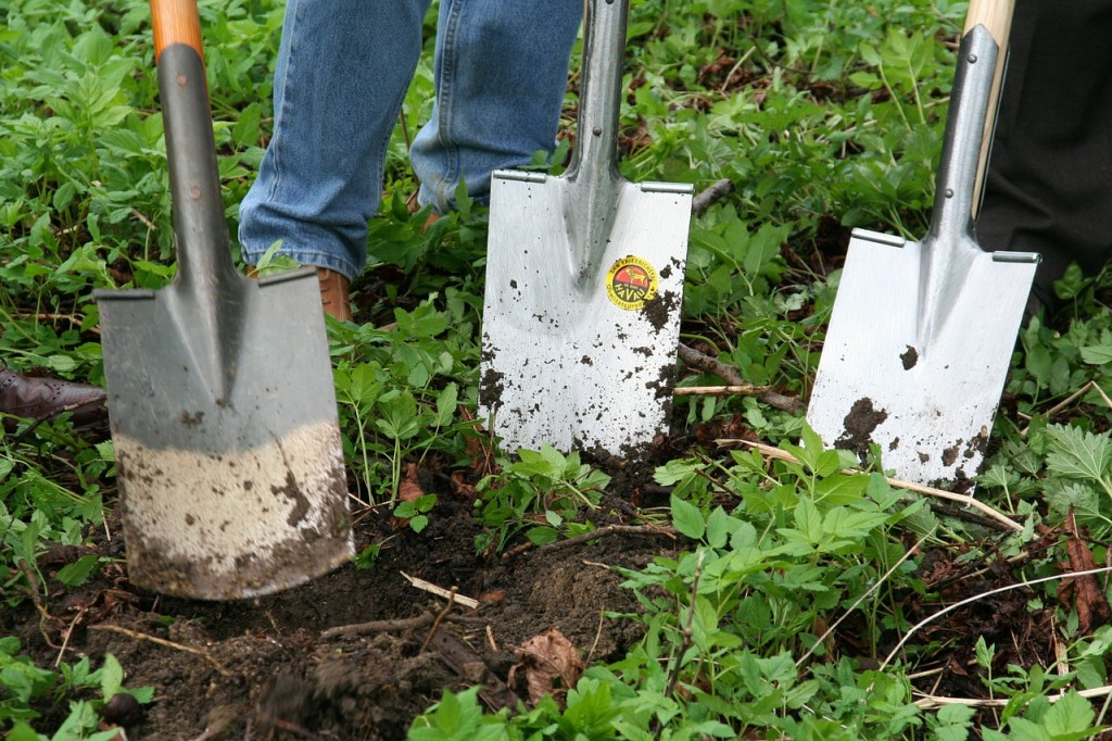 herramientas jardin